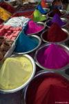 Les couleurs au marché de Mysore
